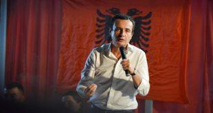 Albin Kurti thotë se punën e parë që do ta bëjë në qeveri do të jetë zvogëlimi i qeverisë dhe zgjerimi i shtetit