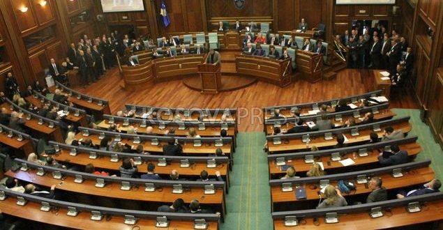 Seanca e Kuvendit të Kosovës ka filluar me bojkotim e dy partive më të mëdha opozitare LDK-së e Lëvizjës Vetëvendosje