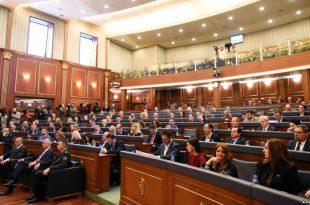 Kuvendi i Republikës së Kosovës të hënën mban seancë të jashtëzakonshme për Kosovën Lindore