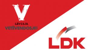 LDK i ka dhënë afat LV-së deri të dielën shqyrtimin e ofertës së saj ose të negociojë me ndonjë parti tjetër