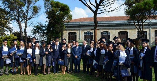 Ministri Lekaj pjesë e ceremonisë së diplomimit të gjeneratës së IV të studentëve nga Kosova në Limak ASI