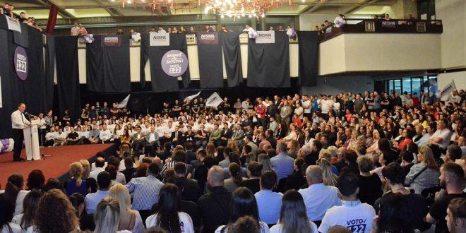 Limaj: Mobilizim dhe entuziazëm i jashtëzakonshëm i Rinisë së Nismës dhe strukturave të Nismës në kryeqytet