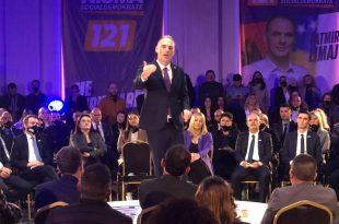 Nisma Socialdemokrate ka hapur zyrtarisht fushatën elektorale për zgjedhjet e parakohshme parlamentare të 14 shkurtit