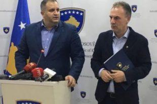 Bashkëkryesuesit e Ekipit Negociator, Fatmir Limaj dhe Shpend Ahmeti kanë qëndruar në Bruksel