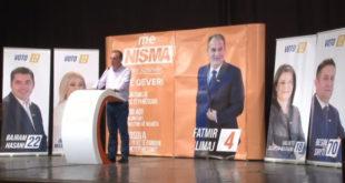 Kryetari i Nismës Fatmir Limaj në Mitrovicë është zotuar për investime në ekonomi
