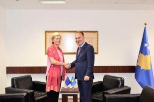 Limaj ka pritur në takim drejtoreshën e BE-së për Evropën Perëndimore, Ballkanin Perëndimor, Angelina Eichhorst