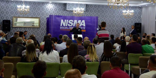Fatmir Limaj në Pozhoran të Vitisë: Koncepti socialdemokrat i Nismës po përqafohet nga qytetarët e vendit