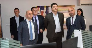 Zëvendësministri i Drejtësisë, Lirak Çelaj po qëndron për vizitë zyrtare në Shqipëri