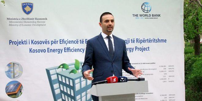 Edhe 12 objekte publike bëhen me masa të efiçiencës së energjisë, investohen 2.3 milionë euro
