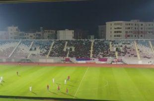 """Akuza për sulm me eksploziv në stadiumin """"Loro Boriçi"""" gjatë ndeshjes Shqipëri-Izrael, rezultoi tërësisht e pavërtetë"""