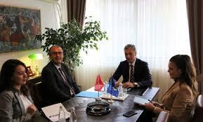 Kryeprokurori i Shtetit, Aleksandër Lumezi, takim Ambasadorin e Turqisë në Kosovë, Çağrı Sakar