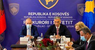 Kosova dhe Shqipëria nënshkruajnë memorandum mirëkuptimi për bashkëpunim në luftimin e krimit të organizuar