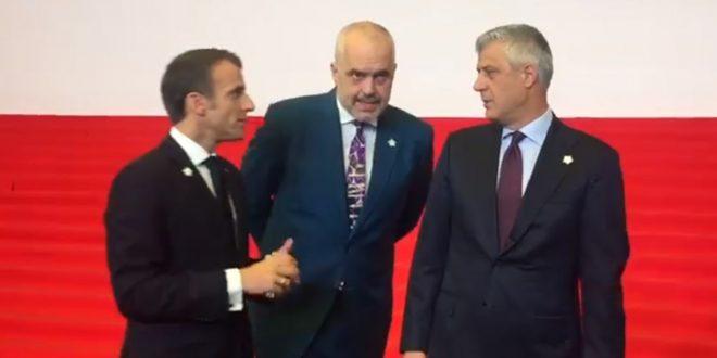 Në Samitin e Jerevanit Thaçi dhe Rama kanë biseduar me kryetarin e Francës Emmanuel Macron