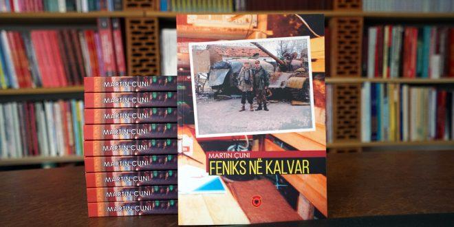 """Doli në dritë libri: """"Feniks në Kalvar"""" i autorit, Martin Çuni"""