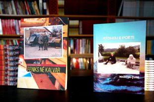 """Më 23 nëntor 2019 përurohen librat: """"Feniks në Kalvar"""" dhe """"Atdheu e poeti"""" të autorit, Martin Çuni"""