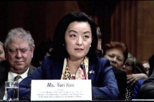 Yuri Kim ka marrë dritën jeshile nga Senatit Amerikan për të qenë ambasadore e ShBA-së në Shqipëri