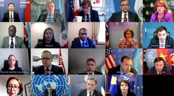Për shkak të afishimit të flamurit të Kosovës, ndërpritet Mbledhja e KS të OKB-së