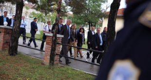Ministrja e Drejtësisë, Dhurata Hoxha, vizitoi të trajtuarit e Qendrës Korrektuese në Lipjan