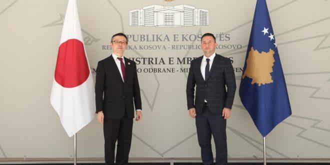Ministri Mehaj priti ministrin (zëvendës ambasadorin) japonez Tatsuya Machida