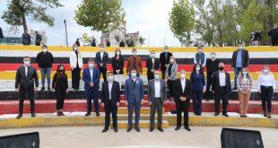 Kryetari i PDK-së, Memli Krasniqi, mbajti fushatë zgjedhore në Shtime dhe në Lypjan