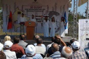 Në Merdarë u shënua Dita Ndërkombëtare për Personat e Zhdukur