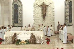 Sonte në Katedralen Shën Nënë Tereza në Prishtinë mbahet Mesha solemne e Krishtlindjes