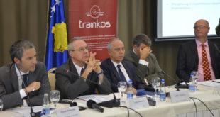 """Filloi konferenca """"Zhvillimi i Sistemit Hekurudhor në Evropën Jug-Lindore"""" drejtuar nga Ministria e Infrastrukturës"""
