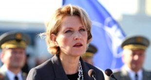 Ministrja e Mbrojtjes së Shqipërisë, Mimi Kodheli: Është situatë dramatike jo vetëm për Shqipërinë, por për gjithë Europën