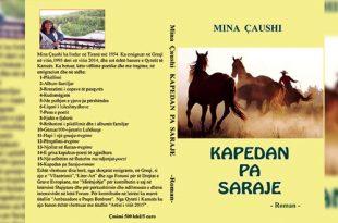 """Albert Z. Zholi: Romani autores, Mina Çaushi, """"KAPEDAN PA SARAJE"""", një qasje ndryshe"""