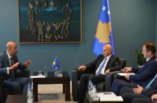 Kryeministri, Mustafa priti përfaqësuesit e FMN-së