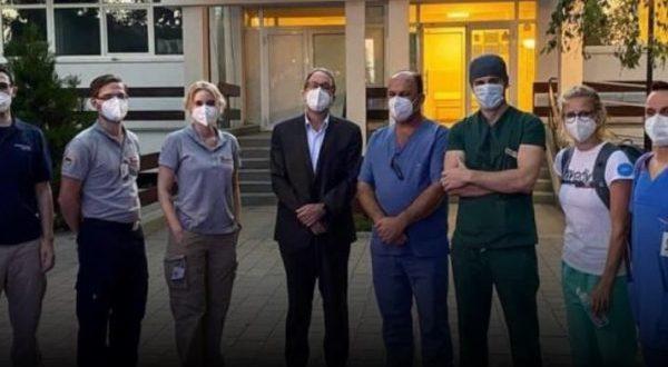 Një ekip i mjekëve gjerman nis punën në Infektivë, për të ndihmuar mjekët tanë në menaxhimin e rasteve me Covid-19