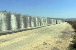 Muri 900 kilometra përgjatë kufirit të Turqisë me Sirinë, do të përfundojë në fund të muajit shkurt