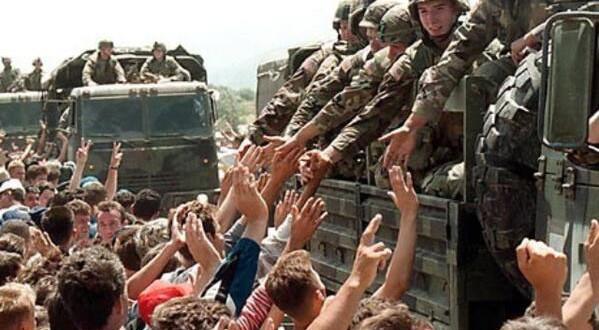 Hyrja e trupave te NATO-se