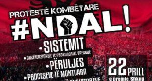 Të premten në Shkup protestohet kundër proceseve të montuara