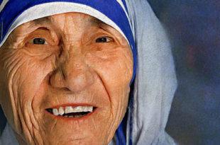 Anjezë Gonxhe Bojaxhiu e njohur si Nënë Tereza, (1910- 1997)