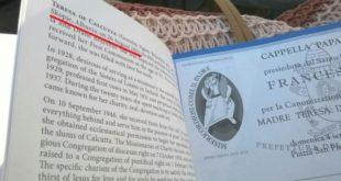 """Vatikani përmirëson """"gabimin"""" për vendin e lindjes së Nënë Terezës: Shkupi nuk është në Shqipëri"""