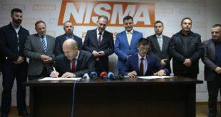 Nisma dhe AKR-ja kanë zyrtarizuar koalicionin në Drenas