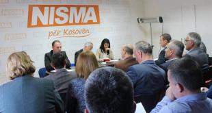 Nisma për Kosovën ka mbajtur mbledhjen e Këshillit Kombëtar