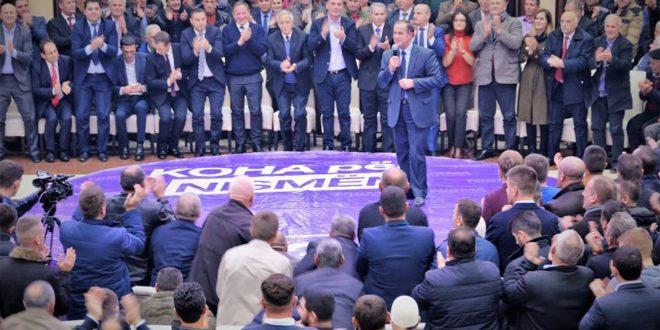 Nisma për Kosovën ka përmbyllur fushatën zgjedhore në Malishevë