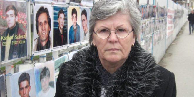 Nesrete Kumnova: Nuk pajtohemi me Serbinë pa u zbardhur fati i më të dashurve tanë