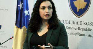 Kandidatja për kryeministre nga LDK-ja, Vjosa Osmani thotë se taksa ndaj Serbisë do të aplikohet