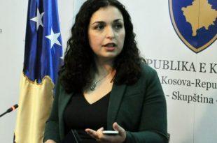Vjosa Osmani, thotë se Kosova po i humb 400 mijë euro në ditë, si pasojë e aferave korruptive