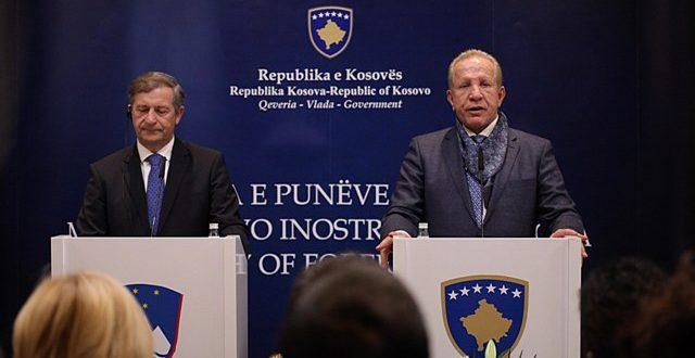 Zëvendëskryeministri Behxhet Pacolli merr përkrahjen e Sllovenisë për anëtarësim në INTERPOL dhe UNESCO