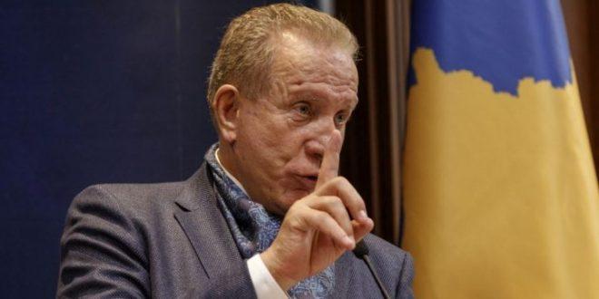Zëvendëskryeministri i Kosovës, Behxhet Pacolli, po merr pjesë në Forumin e Crans Montana në Gjenevë