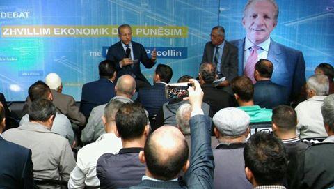 Behxhet Pacolli në Kamenicë shpalos vizioin e tij për zhvillim ekonomik dhe punësim