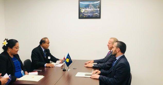 Pacolli: Kosova dhe Kiribati do të vendosin marrëdhënie diplomatike, dhe do të thellojnë bashkëpunimin në mes tyre