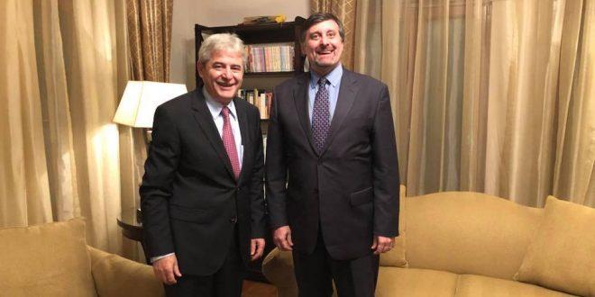 Lideri i BDI-së, Ali Ahmeti është takuar me zëvendës ndihmës i Sekretarit të shtetit amerikan Pallmer