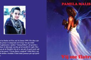 Albert Zholi: libri i ri me poezi i poetes, Pamela Malis: Vij me flatra vargjesh
