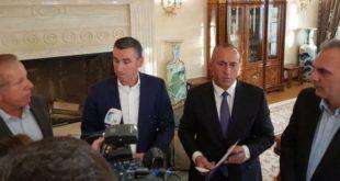 Kryetari i AKR-së, Behgjet Pacolli, ka nënshkruar marrëveshjen për bashkëqeverisje me përfaqësuesit e koalicionit PAN