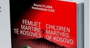 """Më 20 nëntor 2019 promovohet libri monografik """"Fëmijët martirë të Kosovës 1981 – 1999"""" të autorëve Nusret Pllana e Hanëmshahe Ilazi"""